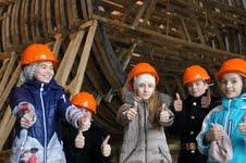 экскурсия для школьников на верфь исторического судостроения