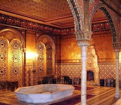 мавританская гостиная дворец Юсуповых