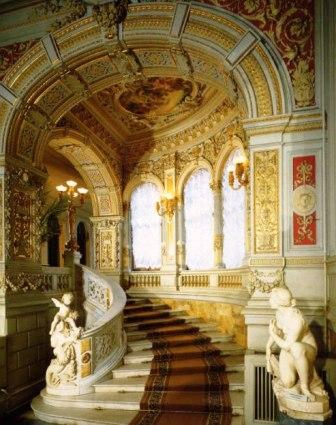 интерьер дворца великого князя Владимира