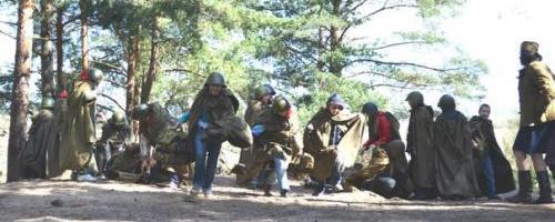 военно-спортивная игра на Сестрорецком рубеже
